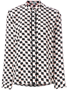 рубашка с геометрическим принтом  Kenzo