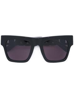 солнцезащитные очки с цепочной отделкой Stella Mccartney Eyewear