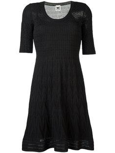 фактурное трикотажное платье  M Missoni