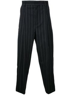 укороченные брюки в тонкую полоску Juun.J