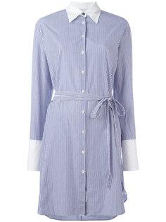 полосатое платье-рубашка Rag & Bone