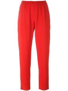 укороченные брюки кроя слим Stella McCartney