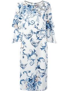 платье с оборками Antonio Marras