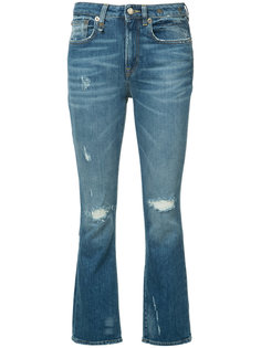 расклешенные джинсы R13