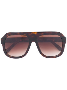 солнцезащитные очки visor с цепочной отделкой  Stella Mccartney Eyewear