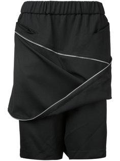 спортивные шорты с молниями спереди Moohong