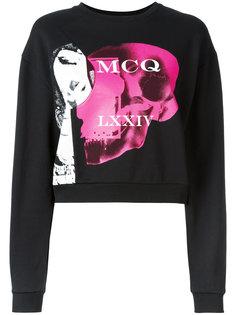 толстовка с принтом McQ Alexander McQueen