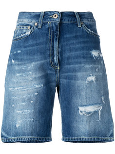рваные джинсовые шорты Dondup