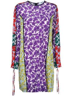 платье-рубашка с принтом  MSGM