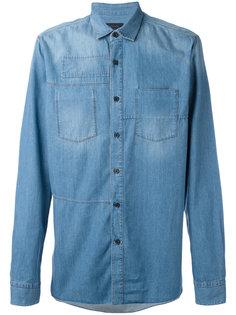 джинсовая рубашка Lanvin