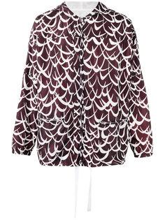 легкая куртка с узором  Marni