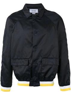 куртка бомбер с контрастным дизайном Sunnei