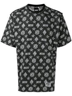 футболка с узором KTZ