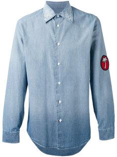 джинсовая рубашка с нашивкой Marc Jacobs