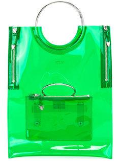 виниловая сумка с ручкой-кольцом Toga