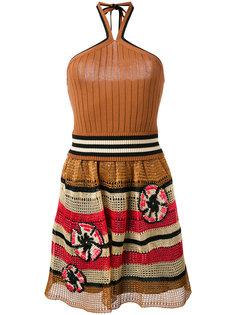 платье халтер  Red Valentino