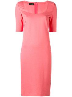 платье с вырезом-ковш Les Copains