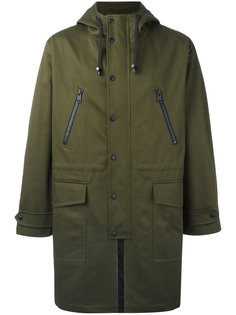 длинное пальто Ami Alexandre Mattiussi