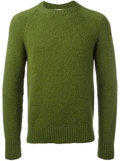 свободный свитер с рукавами реглан и круглым вырезом  Ami Alexandre Mattiussi