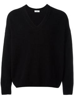 объемный свитер с V-образной горловиной Ami Alexandre Mattiussi