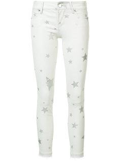 брюки скинни со звездами Rta