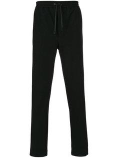 брюки с эластичным поясом и отворотом Ami Alexandre Mattiussi
