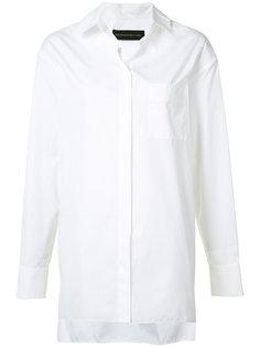 рубашка свободного кроя на пуговицах Alexandre Vauthier
