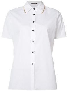 свободная рубашка с короткими рукавами Sophie Theallet