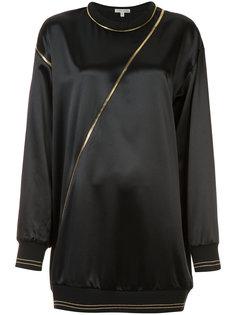 блуза с декоративными молниями Sophie Theallet