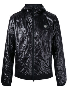 стеганая куртка с капюшоном Stone Island