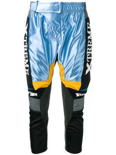 спортивные брюки со вставкой Xtreme Junya Watanabe Comme Des Garçons