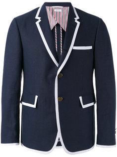 пиджак с контрастной окантовкой Thom Browne