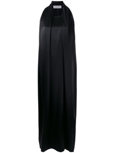 длинное платье без рукавов Gianluca Capannolo