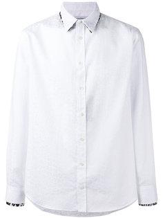 рубашка с леопардовым принтом на подкладке  Alexander McQueen