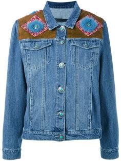 джинсовая куртка с плечевыми панелями Simonetta Ravizza