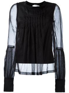 прозрачная блузка с плиссировкой Io Ivana Omazic
