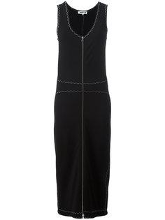 платье-миди на молнии спереди McQ Alexander McQueen