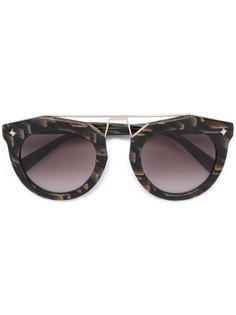 солнцезащитные очки в круглой оправе MCM