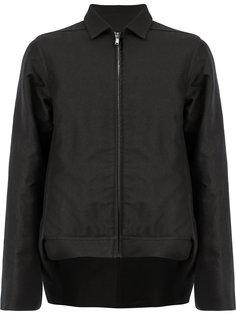 куртка с неравномерным подолом Rick Owens