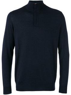 тонкий свитер на молнии The Regent N.Peal