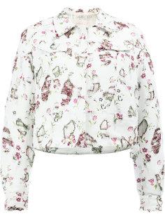 куртка с цветочным принтом Giambattista Valli