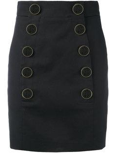короткая юбка на пуговицах Dolce & Gabbana