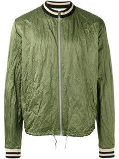 куртка бомбер с логотипом на спине Vivienne Westwood Anglomania