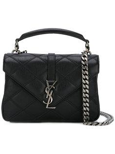 сумка на плечо с монограммой Saint Laurent