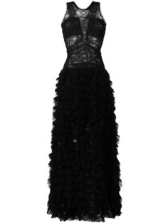 кружевное платье в пол Ermanno Scervino