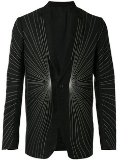 пиджак с вышивкой Rick Owens
