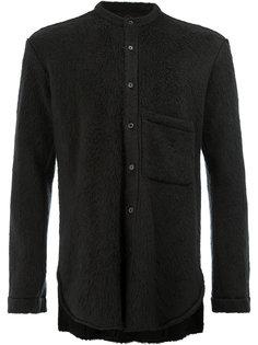 фактурная рубашка с нагрудным карманом LEclaireur