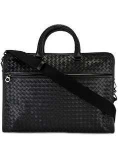 сумка с плетеным дизайном Bottega Veneta