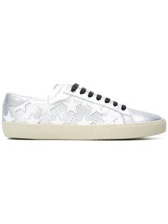 кроссовки с нашивками звезд Saint Laurent
