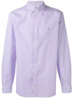 полосатая рубашка с вышитым логотипом Polo Ralph Lauren